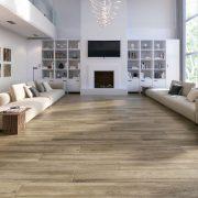 Wood Effect Floor Tiles @ BJ Mullen