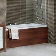 Wooden Bathroom @ BJ Mullen