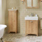 Wooden Bathroom Furniture @ BJ Mullen