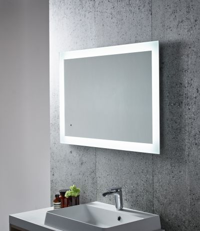 bathroom mirrors bj mullen led lighting steam demisting 23525