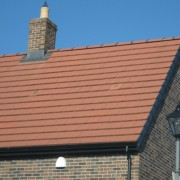 Red Flat Roof Tiles