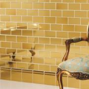 Gold Half Tile