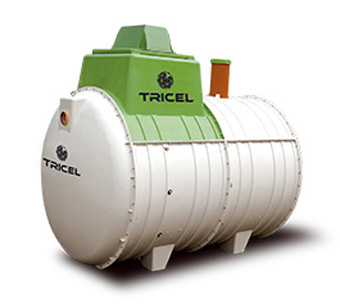 Tricel Septic Tanks @ BJ Mullen
