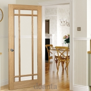 Oak Doors with Glass