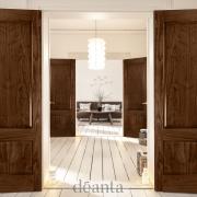 Walnut Double Doors